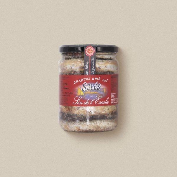 anxoves de l'escala en sal