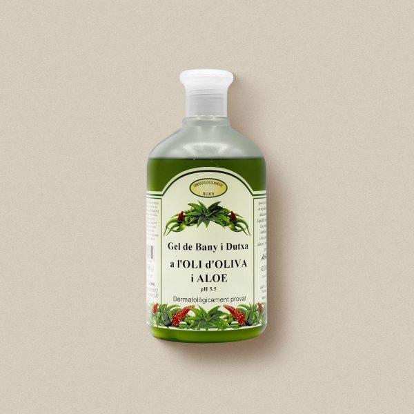 Gel de nay d'oli d'oliva i aloe vera