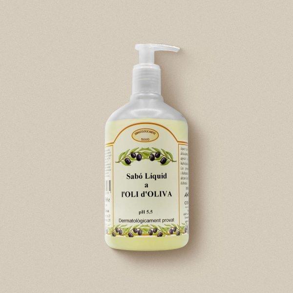 Sabó de mans d'oli d'oliva