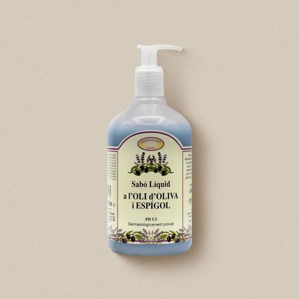 Sabó de mans d'oli d'oliva amb lavanda
