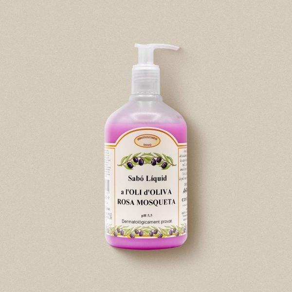 Sabó de mans d'oli d'oliva amb  rosa mosqueta