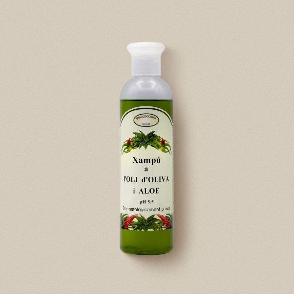 Xampú d'oli d'oliva i aloe vera