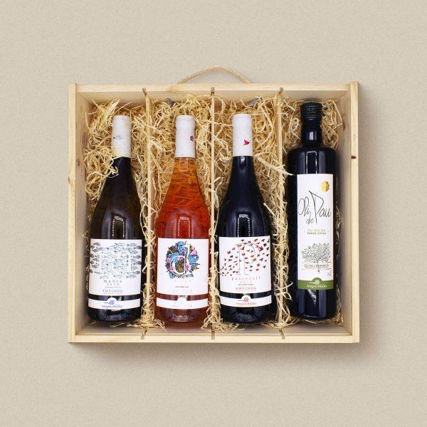 idees de regal lot de vins i oli