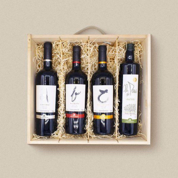 Lot de vins negres per regalar